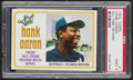 "Baseball Cards:Singles (1970-Now), 1974 Topps Hank Aaron ""All-Time Home Run King #1 PSA Mint 9 - OneHigher! ..."