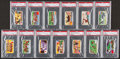 "Non-Sport Cards:Sets, 1962 Dickson Orde & Co. ""Sports of The Countries"" PSA GradedComplete Set (25). ..."