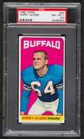 Football Cards:Singles (1960-1969), 1965 Topps Harry Jacobs #32 PSA NM-MT+ 8.5....