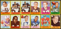 Football Cards:Sets, 1967 Philadelphia Football Complete Set (198) Plus Extras. ...