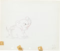 Animation Art:Production Drawing, Mickey's Elephant Production Drawing Animation Art (WaltDisney, 1936)....