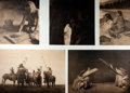"Books:Reference & Bibliography, [Native American]. Group of Five Reproduction Photographs of NativeAmericans of the Northwestern United States. 14.5"" x 17...."