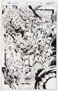 Original Comic Art:Splash Pages, Tony Daniel The Tenth #4 Page 15 Original Art (Image,1997)....