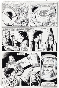 Brian Bolland and Bruce Patterson Camelot 3000 #2 Page 22 Original Art (DC, 1983)