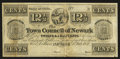 Obsoletes By State:Ohio, Newark, OH- Town Council of Newark 12 1/2¢ July 1, 1841. ...