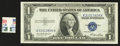Error Notes:Skewed Reverse Printing, Fr. 1614 $1 1935E Silver Certificate. Choice Crisp Uncirculated..... (Total: 2 items)