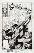 Original Comic Art:Covers, Bret Blevins Sleepwalker #10 Cover Original Art (Marvel,1992)....