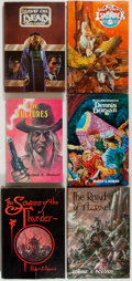 Books:Science Fiction & Fantasy, [Roy G. Krenkel, Illustrator]. Robert Howard. Group of Six Books by Howard. Various publishers, 1973-1981. First editio... (Total: 6 Items)