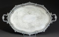 Silver Holloware, Continental, A GARRARD & CO. VICTORIAN SILVER-PLATED TRAY. 20th century. 30inches wide (76.2 cm). ...