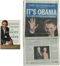 Books:Americana & American History, Barack Obama. The Audacity of Hope. Thoughts onReclaiming the American Dream. New York: Crown Publishers,[2006... (Total: 2 Items)