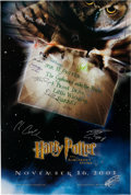 Books:Prints & Leaves, [Movie Posters]. Advance Poster for Harry Potter and theSorcerer's Stone. [N.p.]: Warner Brothers Pictures, 200...