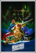 "Movie Posters:Science Fiction, The Empire Strikes Back (Lucasfilm, R-2010). One Sheet (27"" X 41"")SS. Science Fiction.. ..."