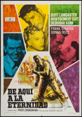 "Movie Posters:Academy Award Winners, From Here to Eternity (Mundial, R-1962). Spanish One Sheet (27"" X38.5""). Academy Award Winners.. ..."