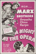 """Movie Posters:Comedy, A Night at the Opera (MGM, R-1962). One Sheet (27"""" X 41""""). Comedy.. ..."""
