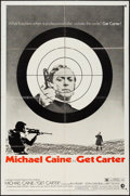"Movie Posters:Crime, Get Carter (MGM, 1971). One Sheet (27"" X 41"") Style B. Crime.. ..."