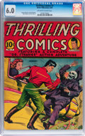 Golden Age (1938-1955):Superhero, Thrilling Comics #7 (Better Publications, 1940) CGC FN 6.0Off-white to white pages....
