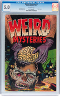 Golden Age (1938-1955):Horror, Weird Mysteries #5 (Gilmor, 1953) CGC VG/FN 5.0 Off-white pages....