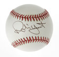Autographs:Baseballs, Robin Yount Single Signed Baseball. The impressive shortstop forthe Milwaukee Brewers enjoyed a wealth of success with tha...