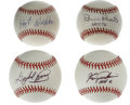 Autographs:Baseballs, Hall of Fame Pitchers Single Signed Baseballs Lot of 4. Fourexcellent single signed orbs have each been signed by a HOF hu...(Total: 4 Items)