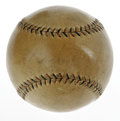 Autographs:Baseballs, 1934 Babe Ruth Signed Tour of Japan Baseball. When Babe Ruth and other big-name baseball stars went on a barnstorming tour ...