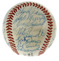 Autographs:Baseballs, 1984 NL All Star Team-Signed Baseball. Wonderful team-signedbaseball comes to us via the 1984 NL All-Star team, as thirty ...