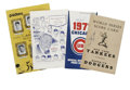 Autographs:Others, Various Baseball Signed Publications Lot of 4. Four assortedbaseball publications are offered here, each signed by a HOF p...(Total: 4 Items)