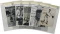 Baseball Collectibles:Photos, 1904-47 Vintage Baseball Photographs Lot of 10. Ten black and white vintage photos offered here have as their focus basebal...