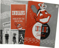 Baseball Collectibles:Publications, 1949 and 1950 Cleveland Indians Yearbooks Lot of 2. Each of thesemid-century yearbooks comes to us via the Cleveland India...