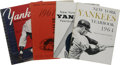 Baseball Collectibles:Publications, 1953-64 New York Yankees Yearbooks Lot of 4. All four of theseearly yearbooks are from the storied franchise of the New Yo...(Total: 4 Items)