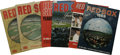 Baseball Collectibles:Publications, 1961-69 Boston Red Sox Yearbooks . From the hallowed history of theBoston Red Sox we offer this group of yearbooks that sp... (Total:6 Items)