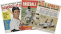 Baseball Collectibles:Publications, Vintage Baseball Publications Lot of 10. Ten vintage baseballpublications are offered here. 1) 1954 Complete Baseball ...(Total: 10 Items)
