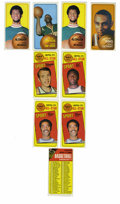 Basketball Cards:Lots, 1970-71 Topps Group Lot of 60. Sixty fine examples from theoversized 1970-71 Topps basketball issue are presented here. H...