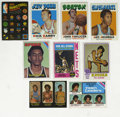 Basketball Cards:Lots, 1971-78 Topps Basketball Group Lot of 89. Vast assortment ofbasketball cards spans the majority of the 1970s and offers ex...