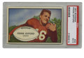 Football Cards:Singles (1950-1959), 1953 Bowman Frank Gifford #43 PSA EX 5. Long before his days with Kathie Lee, the young Frank Gifford starred for the New Y...