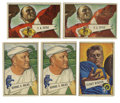 Football Cards:Lots, 1952 Bowman Small Football Group Lot of 55. Group lot of 55 cards (35 unique), each from the fantastic 1952 Bowman Small is...