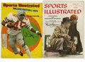"""Football Collectibles:Others, Vintage Signed """"Sports Illustrated"""" Magazines Lot of 2. Two classic Sports Illustrated issues, each bearing the signatu..."""