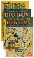 Silver Age (1956-1969):Cartoon Character, Adventures of the Big Boy Group (Timely and Webs, 1957-63) Condition: Average NM-. Dan DeCarlo art graces a couple of the ea... (Total: 7 Comic Books)