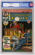 Golden Age (1938-1955):Superhero, All-American Comics #62 (DC, 1944) CGC FN 6.0 Off-white pages. Green Lantern and Doiby Dickles appear on this Paul Reinman c...