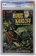 Silver Age (1956-1969):Horror, Boris Karloff Tales of Mystery #4 File Copy (Gold Key, 1963) CGC NM9.4 Off-white to white pages. Painted cover. Back cover ...