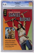 Silver Age (1956-1969):Adventure, Daniel Boone #6 File Copy (Gold Key, 1966) CGC NM 9.4 Off-white to white pages. Photo cover. Back cover photo pin-up. Overst...