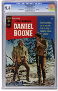 Silver Age (1956-1969):Adventure, Daniel Boone #9 File Copy (Gold Key, 1967) CGC NM 9.4 Off-white to white pages. Photo cover. Mike Sekowsky art. Overstreet 2...