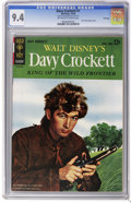 Silver Age (1956-1969):Adventure, Davy Crockett #1 File Copy (Gold Key, 1963) CGC NM 9.4 Off-white to white pages. Fess Parker photo cover. This issue is tied...