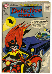 Detective Comics #233 (DC, 1956) Condition: GD/VG. Features the origin and first appearance of Batwoman. Cover by Sheldo...