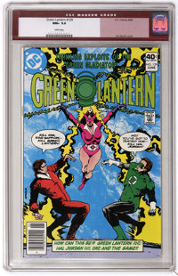 Green Lantern #129 (DC, 1980) CGC NM+ 9.6 White pages. Jim Starlin cover. Joe Staton art. Overstreet 2006 NM- 9.2 value...
