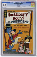 Silver Age (1956-1969):Cartoon Character, Huckleberry Hound #35 File Copy (Gold Key, 1968) CGC NM/MT 9.8 White pages. Yogi Bear appearance. Tied for the highest CGC g...