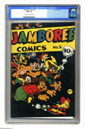 Golden Age (1938-1955):Funny Animal, Jamboree Comics #2 (Round, 1946) CGC NM 9.4 Cream to light tanpages. Overstreet 2006 NM- 9.2 value = $175. CGC census 6/06:...