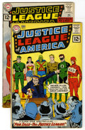 Silver Age (1956-1969):Superhero, Justice League of America #8 and 9 Group (DC, 1962) Condition: Average VG. #8 (Mike Sekowsky and Murphy Anderson cover - Sek... (Total: 2 )