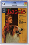 Silver Age (1956-1969):Adventure, Lassie #49 File Copy (Dell, 1960) CGC NM 9.4 Off-white to white pages. Photo cover. Overstreet 2006 NM- 9.2 value = $60. CGC...