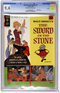 Silver Age (1956-1969):Adventure, Movie Comics - Sword in the Stone - File Copy (Gold Key, 1964) CGC NM 9.4 Off-white to white pages. Back cover pin-up. Tied ...