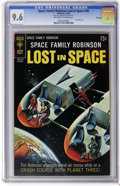 Silver Age (1956-1969):Science Fiction, Space Family Robinson #36 File Copy (Gold Key, 1969) CGC NM+ 9.6 Off-white to white pages. Painted cover. Captain Venture en...